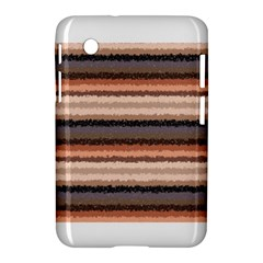 Horizontal Native American Curly Stripes   4 Samsung Galaxy Tab 2 (7 ) P3100 Hardshell Case