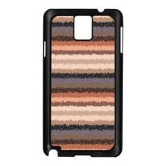 Horizontal Native American Curly Stripes   4 Samsung Galaxy Note 3 N9005 Case (black) by BestCustomGiftsForYou