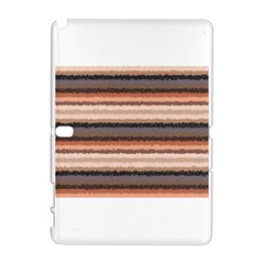 Horizontal Native American Curly Stripes   4 Samsung Galaxy Note 10 1 (p600) Hardshell Case by BestCustomGiftsForYou
