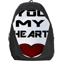 You My Heart Backpack Bag by edward55