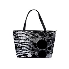 Zebra Print Bling Abstract Classic Shoulder Handbag by OCDesignss