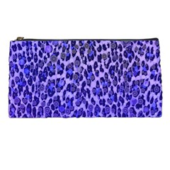 Blue Leopard  Pencil Case by OCDesignss