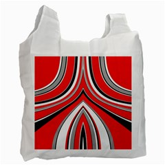 Fantasy White Reusable Bag (two Sides) by Siebenhuehner