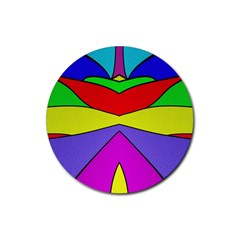 Abstract Drink Coaster (round) by Siebenhuehner