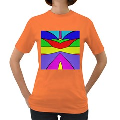 Abstract Women s T Shirt (colored) by Siebenhuehner