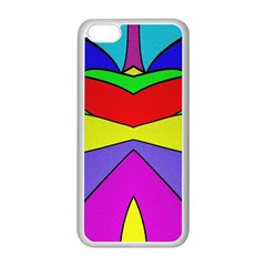Abstract Apple Iphone 5c Seamless Case (white) by Siebenhuehner