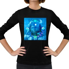 Magician  Women s Long Sleeve T Shirt (dark Colored) by icarusismartdesigns