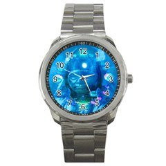 Magician  Sport Metal Watch by icarusismartdesigns