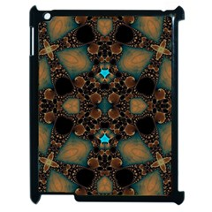 Elegant Caramel  Apple Ipad 2 Case (black) by OCDesignss