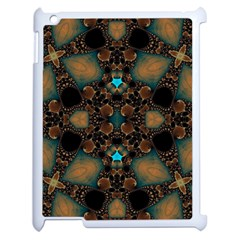 Elegant Caramel  Apple Ipad 2 Case (white) by OCDesignss