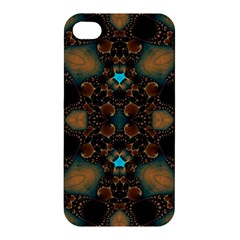 Elegant Caramel  Apple Iphone 4/4s Premium Hardshell Case by OCDesignss