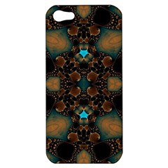 Elegant Caramel  Apple Iphone 5 Hardshell Case