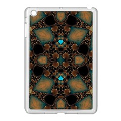 Elegant Caramel  Apple Ipad Mini Case (white) by OCDesignss