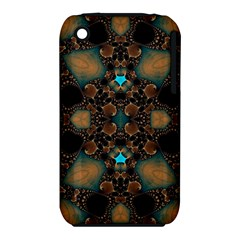 Elegant Caramel  Apple Iphone 3g/3gs Hardshell Case (pc+silicone) by OCDesignss