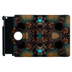 Elegant Caramel  Apple Ipad 2 Flip 360 Case by OCDesignss