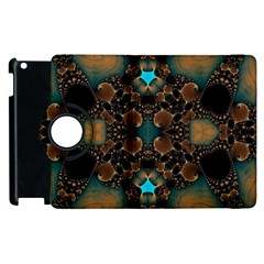 Elegant Caramel  Apple Ipad 3/4 Flip 360 Case by OCDesignss