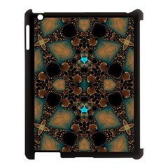 Elegant Caramel  Apple Ipad 3/4 Case (black) by OCDesignss