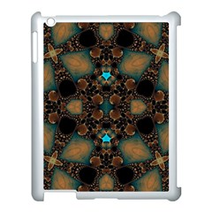 Elegant Caramel  Apple Ipad 3/4 Case (white) by OCDesignss