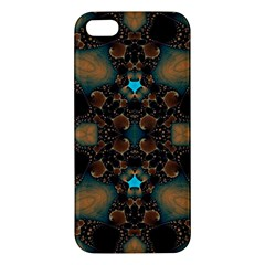 Elegant Caramel  Apple Iphone 5 Premium Hardshell Case by OCDesignss