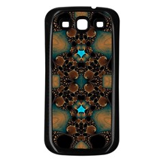 Elegant Caramel  Samsung Galaxy S3 Back Case (black) by OCDesignss