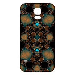 Elegant Caramel  Samsung Galaxy S5 Back Case (white) by OCDesignss