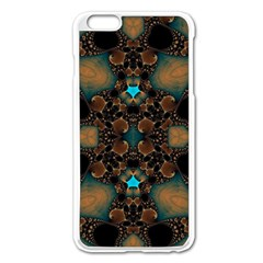 Elegant Caramel  Apple Iphone 6 Plus Enamel White Case by OCDesignss