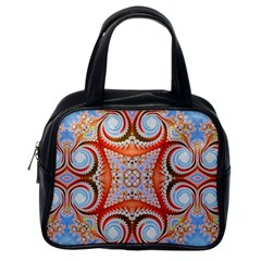 Fractal Abstract  Classic Handbag (one Side) by OCDesignss