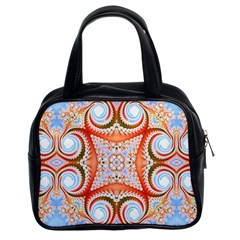 Fractal Abstract  Classic Handbag (two Sides) by OCDesignss