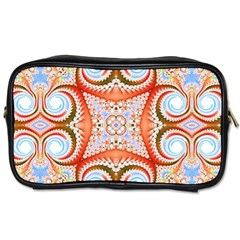 Fractal Abstract  Travel Toiletry Bag (two Sides) by OCDesignss