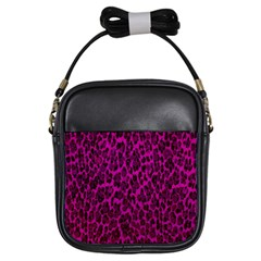 Pink Leopard  Girl s Sling Bag by OCDesignss