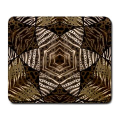 Golden Animal Print  Large Mouse Pad (rectangle)