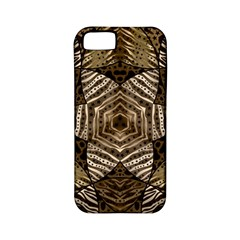 Golden Animal Print  Apple Iphone 5 Classic Hardshell Case (pc+silicone) by OCDesignss