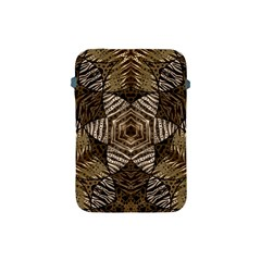 Golden Animal Print  Apple Ipad Mini Protective Sleeve
