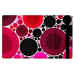 Retro Polka Dot  Apple Ipad 3/4 Flip Case by OCDesignss