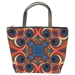 Beautiful Fractal Kelidescopee  Bucket Handbag by OCDesignss