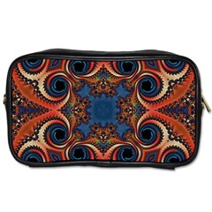 Beautiful Fractal Kelidescopee  Travel Toiletry Bag (one Side) by OCDesignss