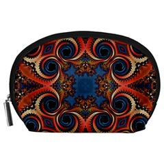 Beautiful Fractal Kelidescopee  Accessory Pouch (large) by OCDesignss