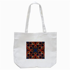 Beautiful Fractal Kelidescopee  Tote Bag (white) by OCDesignss