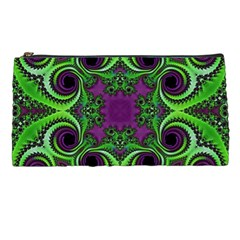 Purple Meets Green Pencil Case by OCDesignss
