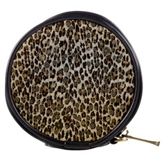 Chocolate Leopard  Mini Makeup Case by OCDesignss