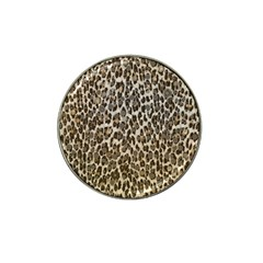 Chocolate Leopard  Golf Ball Marker 4 Pack (for Hat Clip) by OCDesignss