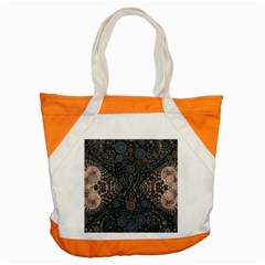 Fuzzy Peach  Accent Tote Bag by OCDesignss