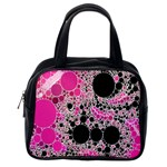 Pink Cotton Kandy  Classic Handbag (Two Sides) Back