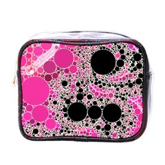 Pink Cotton Kandy  Mini Travel Toiletry Bag (one Side) by OCDesignss