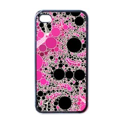 Pink Cotton Kandy  Apple Iphone 4 Case (black) by OCDesignss