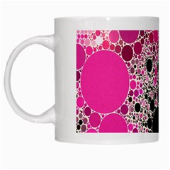 Pink Cotton Kandy  White Coffee Mug by OCDesignss