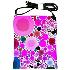 Bubble Gum Polkadot  Shoulder Sling Bag