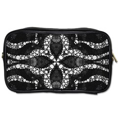 Black Onyx  Travel Toiletry Bag (two Sides) by OCDesignss