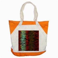 Earthy Zebra Accent Tote Bag by OCDesignss