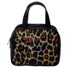 Cheetah Abstract Classic Handbag (one Side) by OCDesignss